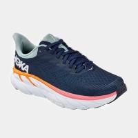נעלי ספורט נשים הוקה קליפטון 7 רחבות בצבע כחול/לבן - Hoka Clifton 7 Wideארגונית נעליים