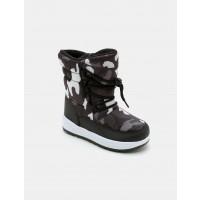 מגפי גשם לילדים קדס בהדפס הסוואה בצבע שחור/לבן - Kedsארגונית נעליים