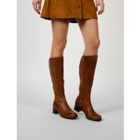 מגפי עור גבוהות לנשים בצבע חום סבנטי ניין - Seventy Nine N52ארגונית נעליים
